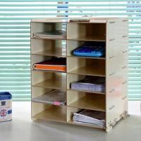 桌面办公文件柜收纳整理架