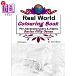 【中商海外直订】Real World Colouring Books Series 57