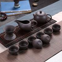 ���P紫砂茶具陶瓷功夫茶具套�b茶杯茶�卣�套茶具茶道家用��s
