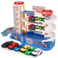 电动轨道车儿童停车场玩具套装大型多层益智6-8岁男孩