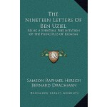 【预订】The Nineteen Letters of Ben Uziel: Being a Spiritual Pr