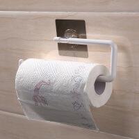 厨房用纸挂架收纳架抹手置物架吸壁式卷纸架免打孔壁挂厨房纸巾架