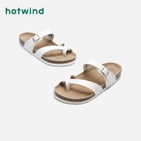 热风男士软木拖夹脚平跟时尚休闲拖鞋H60M0212