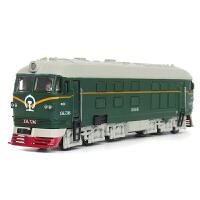 城市地铁模型儿童玩具车合金城际轨道车火车模型带声光