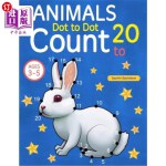 【中商海外直订】Animals: Dot to Dot Count to 20 (Kids Ages 3-5)