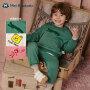 【2件3折参考价:60】迷你巴拉巴拉女童男童长袖套装2020秋季新款儿童套装运动洋气童装