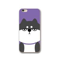 笨柴兄弟iphone6s手机壳8plus卡通哈士奇柴犬苹果7p硅胶X软壳可爱