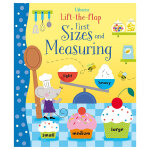 [Lift-the-flap] first sizes and measuring,[翻翻书] 尺寸和测量 英文原版