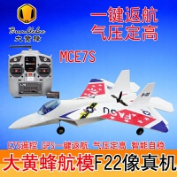 F22遥控飞机滑翔机固定翼航模飞机苏27遥控超大战斗机固定翼f22像真机拼装耐摔板遥控飞机耐摔 顶配E7S+一键返航+