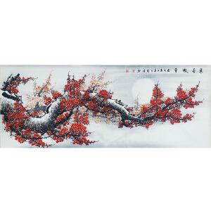 中国美协会员,龙门书画院院长侯桂峰(寒香傲雪)  62