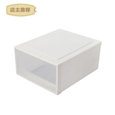 塑料收纳箱抽屉式收纳柜衣服箱子储物箱透明衣柜收纳盒衣物整理箱SN8494
