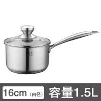304不锈钢奶锅婴儿宝宝辅食热牛奶不粘锅加厚家用泡面小汤锅