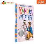 #凯迪克 进口英语英文原版绘本 美国进口 1978年纽伯瑞银奖 Ramona and Her Father 雷梦拉和爸