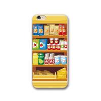 零食贩卖机iphone7手机壳X个性卡通苹果8硅胶软壳6s plus创意外壳