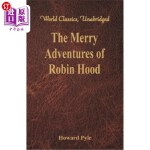 【中商海外直订】The Merry Adventures of Robin Hood: (World Classics
