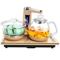 容声 全自动上水壶电热水壶家用电热水壶玻璃养生泡茶壶茶具套装 高硼硅玻璃/烧水/清洁茶具