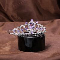 儿童发饰发箍王冠公主女孩发梳饰品宝宝水钻头饰女童表演发箍皇冠