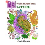 【中商海外直订】Bring Me to Life Coloring Book: Nature