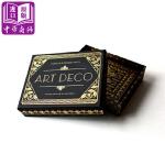 【中商原版】装饰艺术时代风格:信件套装 英文原版 Art Deco Notecards & Envelopes