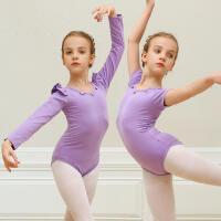 女童舞蹈练功服短袖舞蹈服春夏儿童体操服跳舞衣形体芭蕾舞服