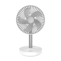 桌面usb小电风扇可充电超静音大风力随身便携式迷你学生寝室宿舍床上办公室台式小型家用制冷电动风扇