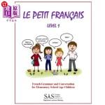 【中商海外直订】Le Petit Francais Level 1: French Grammar and Conve