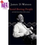 【中商海外直订】Avoid Boring People: Lessons from a Life in Science