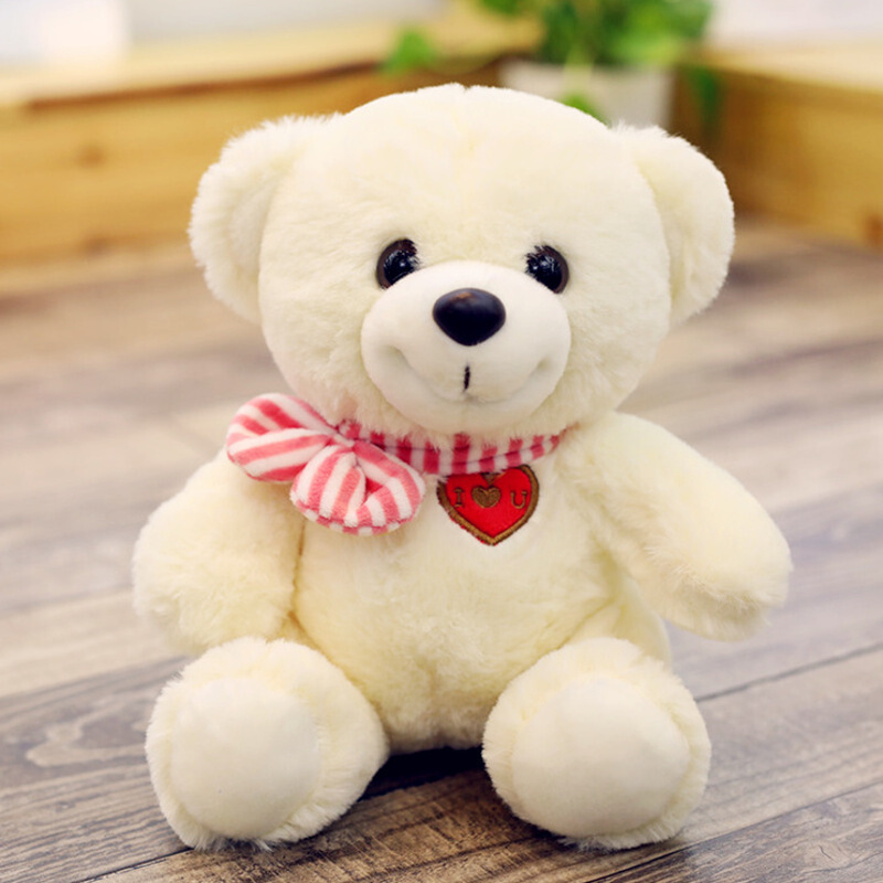 可爱小熊公仔布娃娃泰迪熊抱抱熊毛绒玩具小号送女友情侣生日礼物