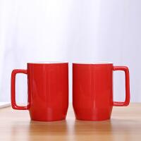 结婚刷牙杯 创意家用漱口杯陶瓷情侣牙刷杯子简约牙缸杯洗漱杯一对