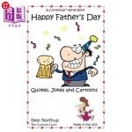 【中商海外直订】Happy Father's Day: Jokes & Cartoons in Black and W