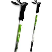 登山杖碳纤维户外装备三节登上手仗伸缩多功能徒步行走用品爬山拐棍碳素