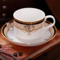 咖啡具套装15头欧式骨瓷咖啡杯杯具套装红茶具陶瓷咖啡具 图片色