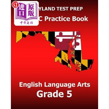 【中商海外直订】Maryland Test Prep Parcc Practice Book English Language Arts Grade 5: Preparation for the... 海外发货,付款后预计2-4周到货