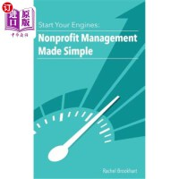【中商海外直订】Start Your Engines: Nonprofit Management Made Simpl