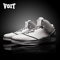 沃特高帮篮球鞋夏季男透气运动男鞋耐磨轻便儿童男童中大童小学生