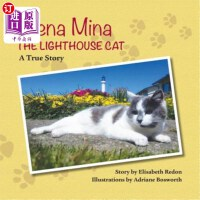【中商海外直订】Arena Mina the Lighthouse Cat: A True Story