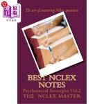 【中商海外直订】Best NCLEX Notes: Psychosocial Strategies Vol.2
