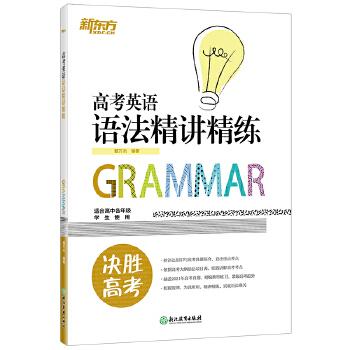 高考英语语法精讲精练 高中各年级语法考点 串讲 工具书 高考英语系列 籍万杰 新东方高考