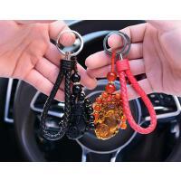汽车钥匙挂件男士女款本命猪年开运情侣链坠保平安