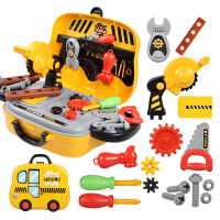 男孩幼儿宝宝益智力仿真维修理箱螺丝刀儿童工具箱玩具套装