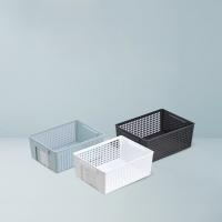 日本制造 抽拉式标签收纳篮 3色可选