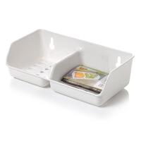 吸盘皂盒双格沥水香皂架皂盘肥皂盒水槽小物收纳架