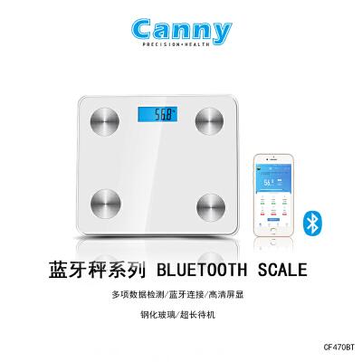 凯立 智能体脂秤体重秤电子脂肪秤CF470MBT家用体脂称 蓝牙人体秤 健康秤CF470BT