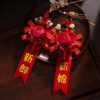 婚庆用品新郎新娘伴郎伴娘胸花婚礼贵宾嘉宾唯美结婚仿真玫瑰胸花