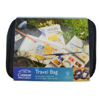 进口温莎牛顿歌文固体水彩颜料便携旅行袋 歌文固体水彩颜料套装