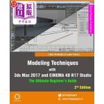 【中商海外直订】Modeling Techniques with 3ds Max 2017 and Cinema 4D