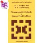 【中商海外直订】Nonparametric Methods in Change Point Problems