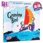 【中商原版】班吉戴维斯:奶奶的小鸟 英文原版 Grandma Bird 3-6岁 绘本