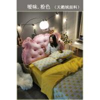 【特惠购】ins床头靠垫皇冠大靠背双人卧室网红靠枕床上靠垫公主风韩式拆洗