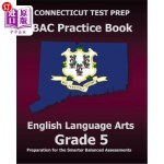【中商海外直订】CONNECTICUT TEST PREP SBAC Practice Book English La